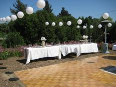 Dance Floor and Tables